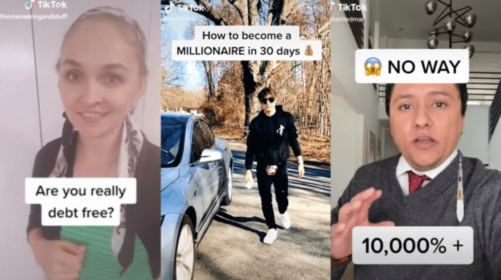 On TikTok, Crappy Financial Advice Is Going Viral. Here's What You Should Keep In Mind